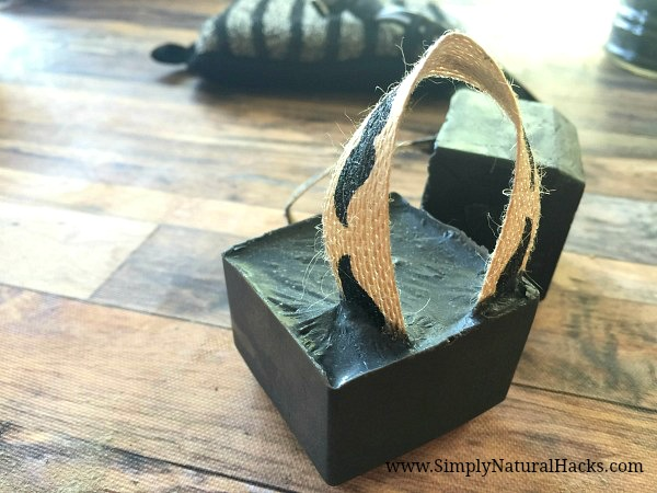 diy charcoal soap for men