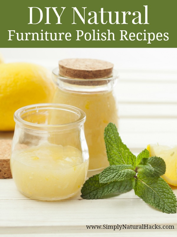 DIY Natural Furniture polish ingredients