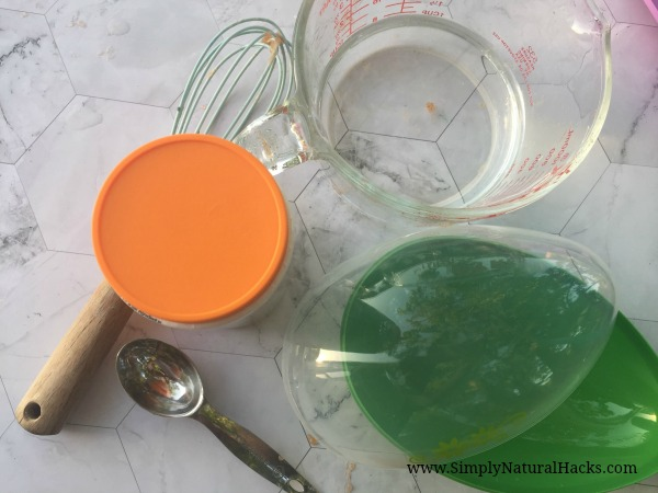 natural 2 ingredient slime ingredients