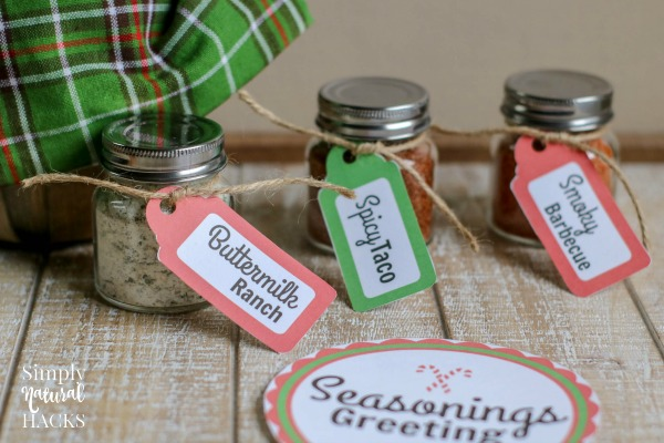 Use these homemade spice mix recipes to create a seasoning mix gift basket.